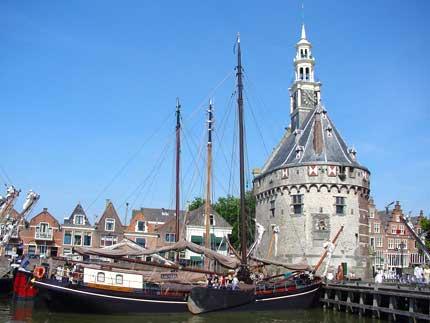Hoofdtoren haven Hoorn