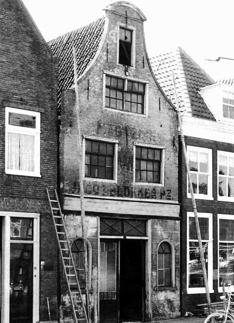 Breed 12: voor de restauratie. Foto Archiefdienst Westfriese Gemeenten.