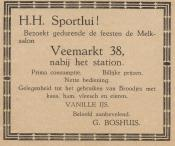 advertentie - Melksalon - G. Boshuis