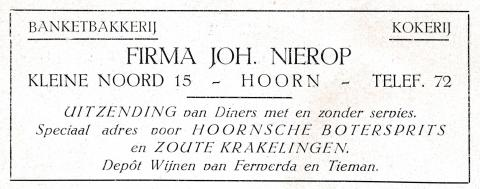 advertentie -