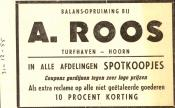 advertentie - A. Roos