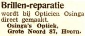 advertentie - Osinga's Optiek