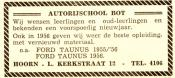 advertentie - Autorijschool  Bot