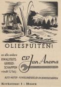 advertentie - Jan Anema