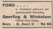advertentie - Geerling en Winkelaar  Official Ford Dealer