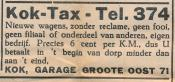 advertentie - Kok-Tax