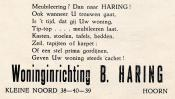 advertentie - B. HARING