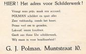 advertentie - G. J. Polman
