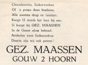 advertentie - GEZ. MAASSEN