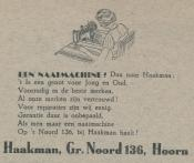 advertentie - Haakman