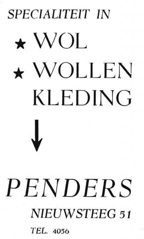 advertentie - PENDERS