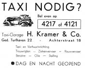 advertentie - H. Kramer & Co.
