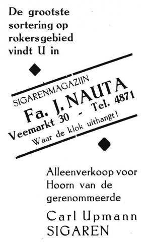 advertentie - Fa. J. NAUTA