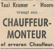 advertentie - Taxi