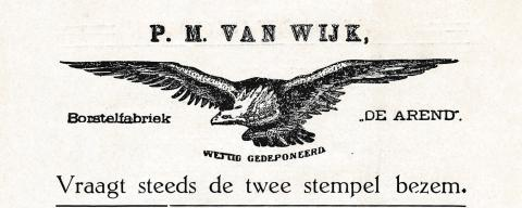 advertentie - Borstelfabriek De Arend